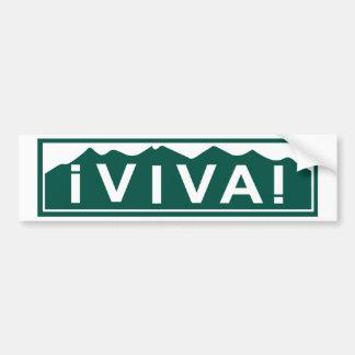 Adesivo De Para-choque Autocolante no vidro traseiro de Viva Colorado