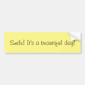 Adesivo De Para-choque Autocolante no vidro traseiro do sorriso