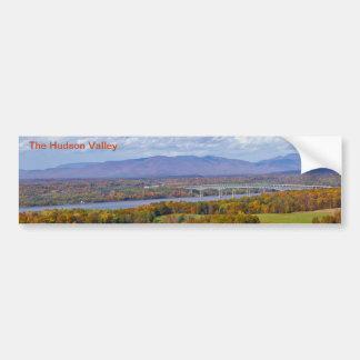 Adesivo De Para-choque Autocolante no vidro traseiro do vale de Hudson