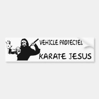 Adesivo De Para-choque AUTOCOLANTE NO VIDRO TRASEIRO ENGRAÇADO do JESUS