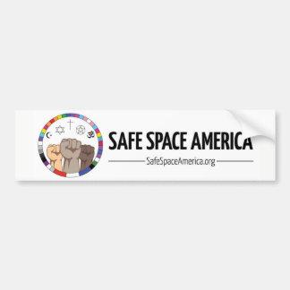 Adesivo De Para-choque Autocolante no vidro traseiro seguro de América do