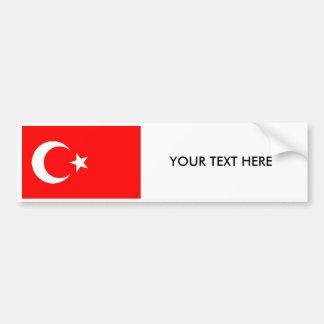 Adesivo De Para-choque Autocolante no vidro traseiro turco da BANDEIRA