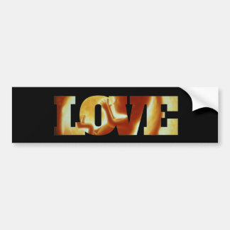 Adesivo De Para-choque Autocolante no vidro traseiro verdadeiro do amor!
