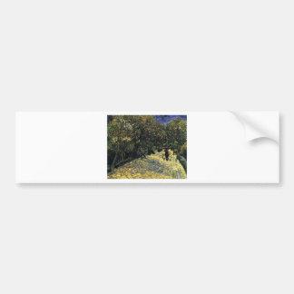 Adesivo De Para-choque Avenida com as árvores de castanha em Arles - Van