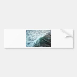 Adesivo De Para-choque Azul de Oceano Pacífico