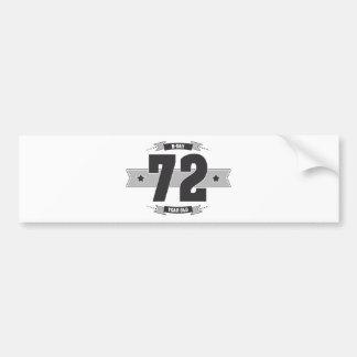 Adesivo De Para-choque B-dia 72 (Dark&Lightgrey)