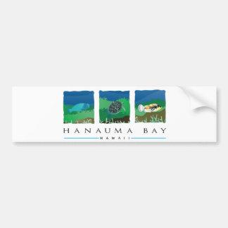 Adesivo De Para-choque Baía de Havaí Hanauma