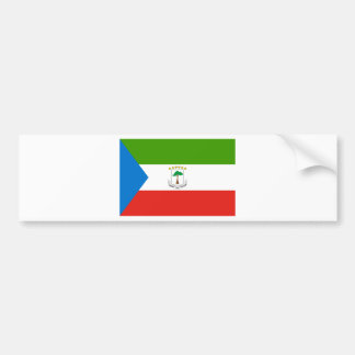 Adesivo De Para-choque Baixo custo! Bandeira da Guiné Equatorial