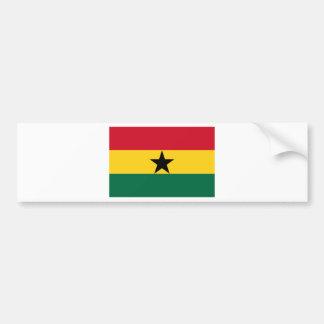 Adesivo De Para-choque Baixo custo! Bandeira de Ghana