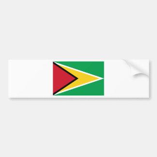 Adesivo De Para-choque Baixo custo! Bandeira de Guyana