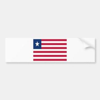 Adesivo De Para-choque Baixo custo! Bandeira de Liberia
