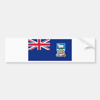 Adesivo De Para-choque Bandeira das Ilhas Falkland - Union Jack