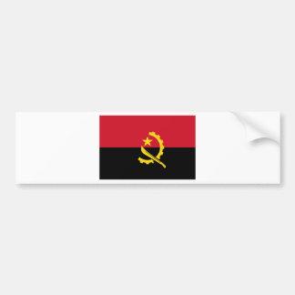Adesivo De Para-choque Bandeira de Angola - Bandeira de Angola