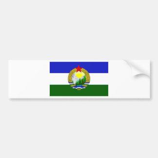 Adesivo De Para-choque Bandeira de Cascadia socialista
