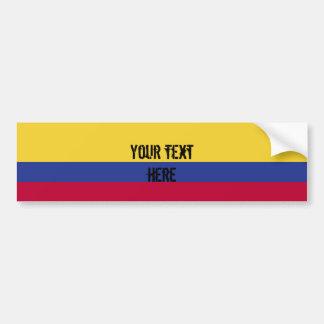 Adesivo De Para-choque Bandeira de Colômbia