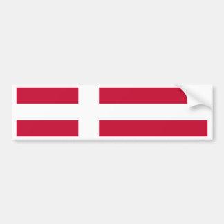 Adesivo De Para-choque Bandeira de Dinamarca