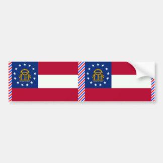Adesivo De Para-choque Bandeira de Geórgia