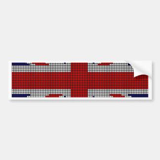 Adesivo De Para-choque Bandeira de ingleses da bandeira do jaque de união