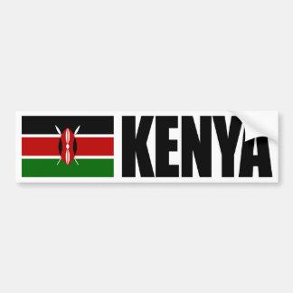 Adesivo De Para-choque Bandeira de Kenya