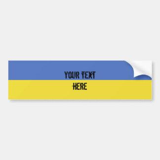 Adesivo De Para-choque Bandeira de Ucrânia