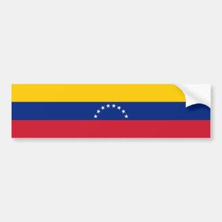 Adesivo De Para-choque Bandeira de Venezuela