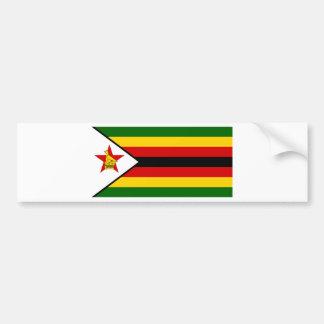 Adesivo De Para-choque Bandeira do weZimbabwe de Zimbabwe - de
