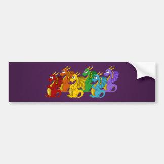 Adesivo De Para-choque Bandeira dos desenhos animados dos dragões do