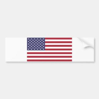 Adesivo De Para-choque Bandeira dos Estados Unidos
