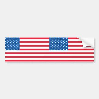 Adesivo De Para-choque Bandeira dos Estados Unidos da bandeira dos EUA