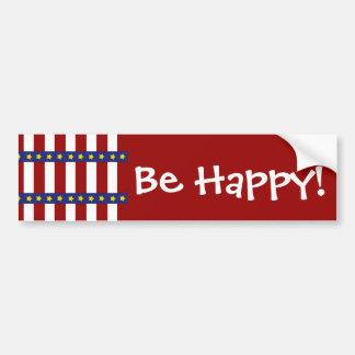 Adesivo De Para-choque Bandeira dos Estados Unidos náutica