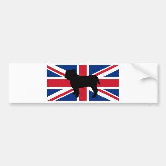 Adesivo De Para-choque bandeira United_Kingdom.png da silhueta do