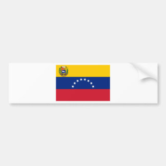 Adesivo De Para-choque Bandeira venezuelana - bandeira de Venezuela -