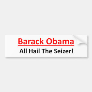 Adesivo De Para-choque Barack Obama é um querer ser imperador