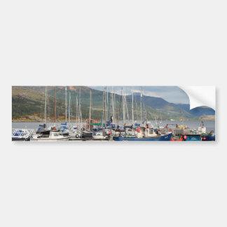 Adesivo De Para-choque Barcos em Kyleakin, ilha de Skye, Scotland
