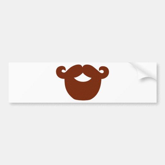 Adesivo De Para-choque Beard