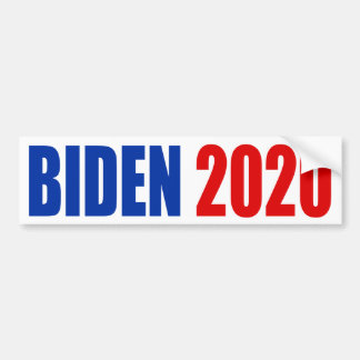 """ADESIVO DE PARA-CHOQUE """"BIDEN 2020 """""""