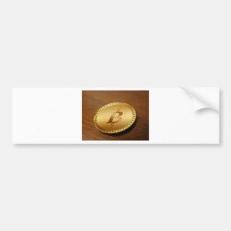 Adesivo De Para-choque Bitcoin 2