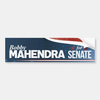 Adesivo De Para-choque Bobby Mahendra para o Senado