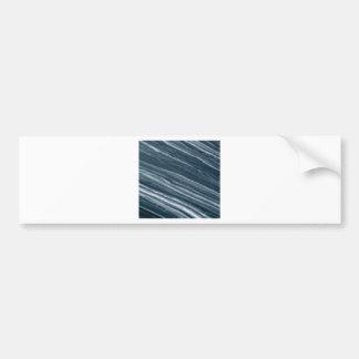 Adesivo De Para-choque branco acima das linhas da inclinação
