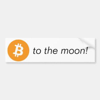Adesivo De Para-choque Bumpersticker - à lua!