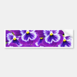 Adesivo De Para-choque Butterfly_Purple_Pansies, _