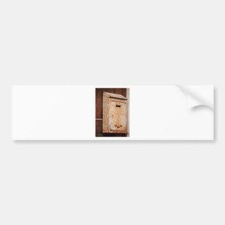 Adesivo De Para-choque Caixa postal oxidada fora