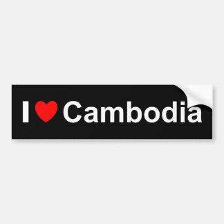 Adesivo De Para-choque Cambodia