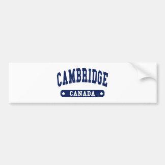Adesivo De Para-choque Cambridge