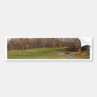 Adesivo De Para-choque Campo de golfe
