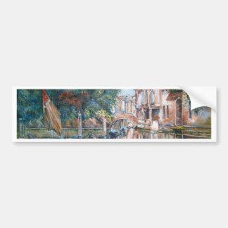 Adesivo De Para-choque Canais de Veneza