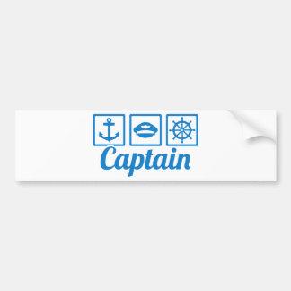 Adesivo De Para-choque Capitão