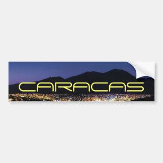 Adesivo De Para-choque Caracas em a noite