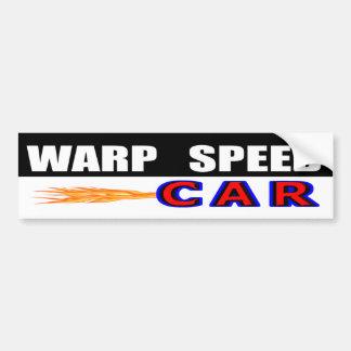 Adesivo De Para-choque Carro da velocidade da urdidura