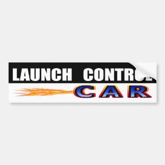 Adesivo De Para-choque Carro do controle do lançamento